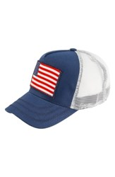 Peter Grimm States Trucker Hat Blue Navy
