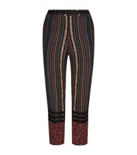 No.21 Floral Printed Trousers Female Multi