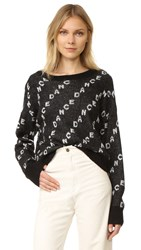 Wildfox Couture Dance Repeat Sweater Black