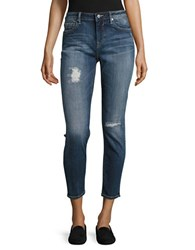 Vigoss Thompson Tomboy Boyfriend Skinny Jeans Dark Wash