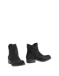 Luca Valentini Ankle Boots Steel Grey