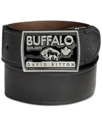Buffalo David Bitton Reversible Logo Buckle Belt