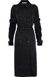 W118 By Walter Baker Jennifer Twill Trench Coat Black
