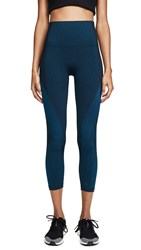 Lndr Launch Crop Leggings Teal