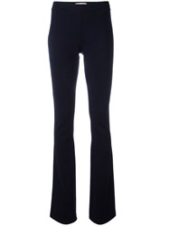Balmain Pierre Flared Trousers Blue