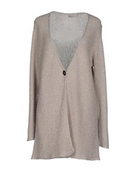 Le Tricot Perugia Knitwear Cardigans Women Sand