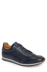 Magnanni 'Cristian' Sneaker Blue Leather