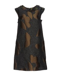 Collection Privee Short Dresses Military Green