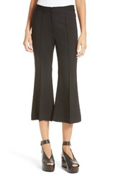 Tibi Women's Crop Flare Leg Pants