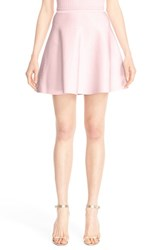 Cushnie Et Ochs Women's Ryan Knit Circle Cut Miniskirt