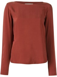 Humanoid 'Blaz' Blouse Red