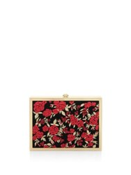 Alice Olivia Darla Magnetic Frame Clutch Multi