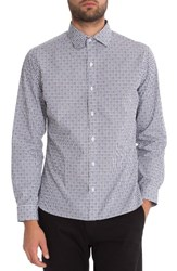 7 Diamonds Men's Midnight Rambler Woven Shirt