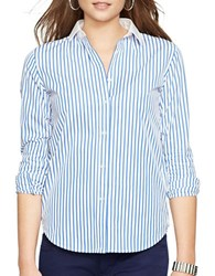 Lauren Ralph Lauren Jebediah Button Front Shirt White