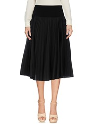 Paul Smith Ps By Knee Length Skirts Black