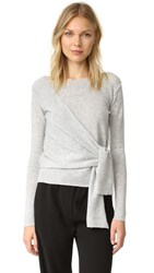 Brochu Walker Seine Cashmere Sweater Mist Grey Melange