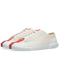 Grenson X Craig Green Low Top Canvas Sneaker White