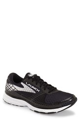 Men's Brooks 'Launch 3' Running Shoe Black White