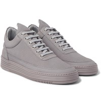 Filling Pieces Ghost Perforated Nubuck Sneakers Gray