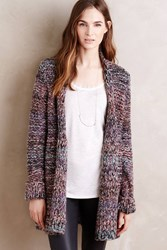Moth Roxbury Spacedye Cardi Grey Motif