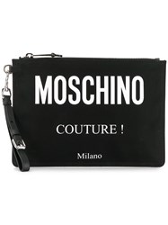 'Moschino Couture ' Clutch Black