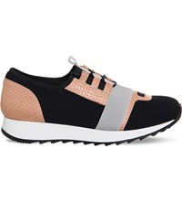 Office Action Neoprene Trainers Pink Grey