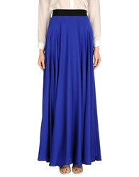 Milly Skirts Long Skirts Women Bright Blue