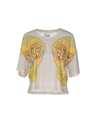 People T Shirts Beige