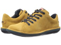 Camper Beetle Lo 18648 Dark Yellow Men's Lace Up Casual Shoes
