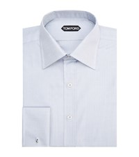 Tom Ford Herringbone French Cuff Shirt Male Grey