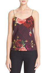 Ted Baker Women's London 'Klisha Juxtapose Rose' Print Camisole