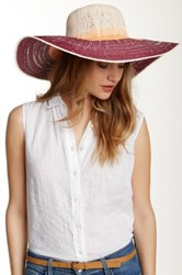 14Th And Union Ombre Colorblock Floppy Hat Red