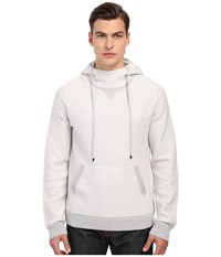 Vince Lux Lounge Hooded Sweater Optic White