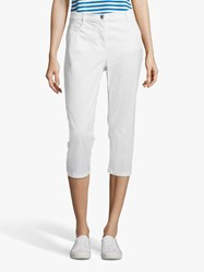 Betty Barclay Stretch Cotton Cropped Jeans Bright White