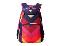 Roxy Shadow Swell Laguna Chevron Backpack Bags Red