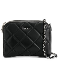 Donna Karan Barbara Shoulder Bag Black