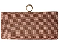 Jessica Mcclintock Bailey Mesh Ring Clutch Blush Clutch Handbags Pink