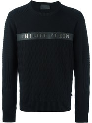 Philipp Plein 'Random' Jumper Black
