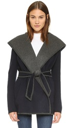 Joie Lou Lynn Coat Dark Navy
