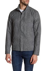 Zachary Prell Ferry Front Zip Jacket Gray