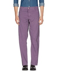 9.2 By Carlo Chionna Casual Pants Purple