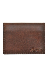 Rawlings Sports Accessories Leather Card Case Bourbon