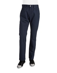 English Laundry Cotton Pants Deep Night Blue