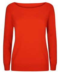 Jaeger Cashmere Sweater Red