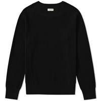 Dries Van Noten Naut Ribbed Crew Knit Black