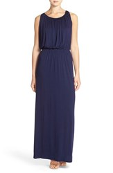 Women's Felicity And Coco 'Grecian' Jersey Maxi Dress Navy