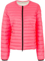 Ecoalf Puffer Jacket Pink And Purple