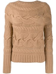 Ralph Lauren Collection Knit Jumper Neutrals