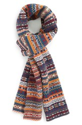Men's Barbour 'Martingale' Fair Isle Wool Scarf