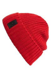 Men's Spyder 'Lounge' Knit Beanie Red Vampire